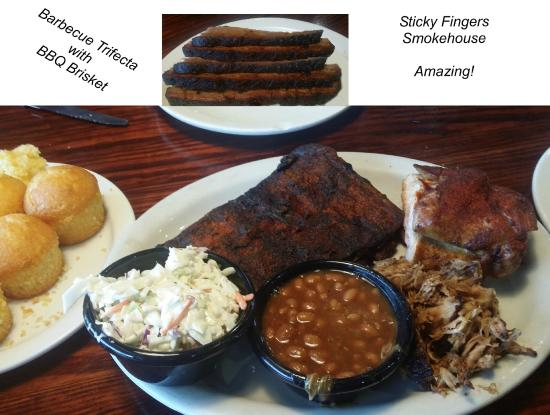 Sticky Fingers: Absolutely Delicious Ribs and Brisket !!