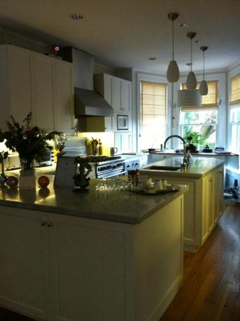 The Chanric Inn: Kitchen