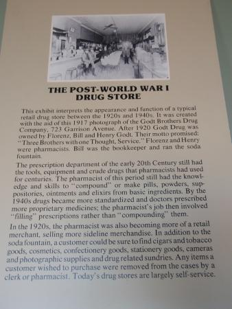 Fort Smith Museum of History: sign