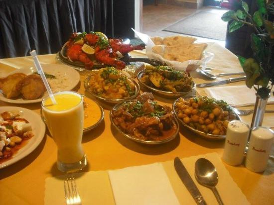 Bombay Indian Restaurant: delicious food