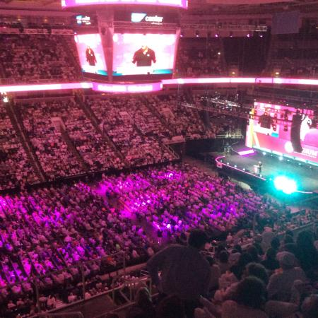 SAP Center : Floor & stage area