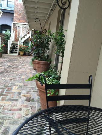Inn on Ursulines : Courtyard