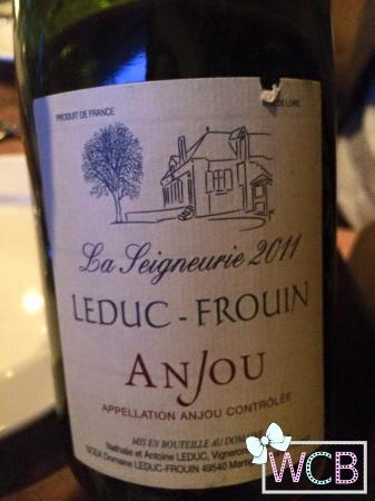 Le Garage : The wine our server recommended, fruity yet strong