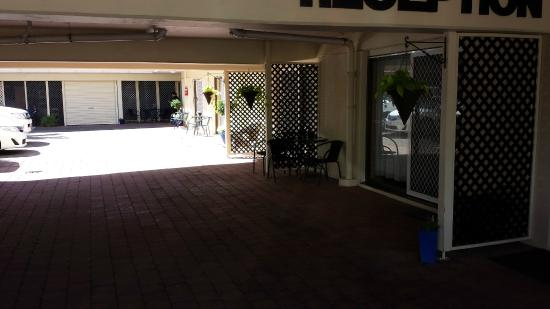 Gold Coast Airport Motel : The entrance