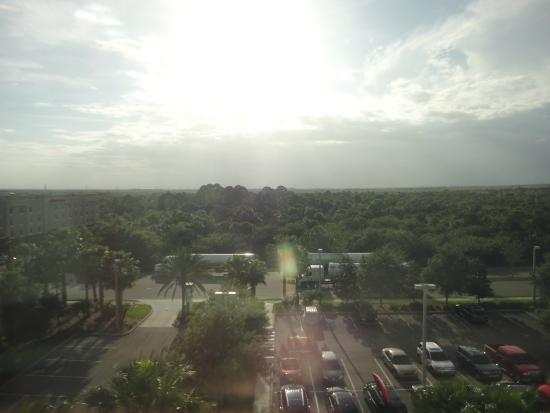 Holiday Inn Titusville Kennedy Space Center: VIEW FROM 5TH FLOOR