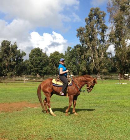Kilauea, Hawái: Getting Nicholas ready to go