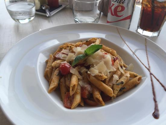 Delicious pasta! - Picture of Anse Marcel Beach, Anse Marcel ...