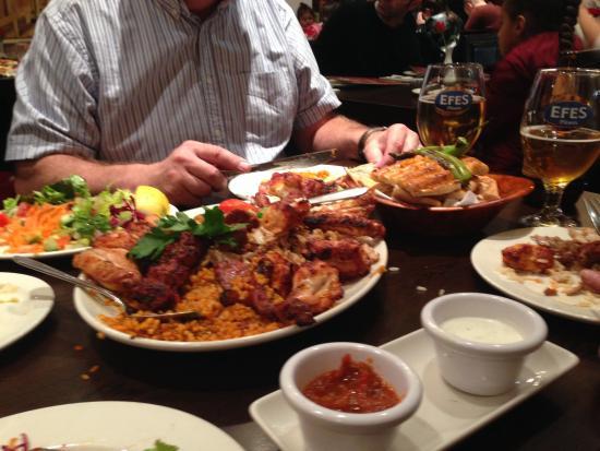 Devran restaurant: Sharing platter