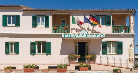 Hotel Frassetto: Facciata