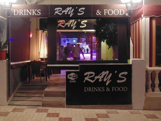 Ray's drinks and food : Ray's