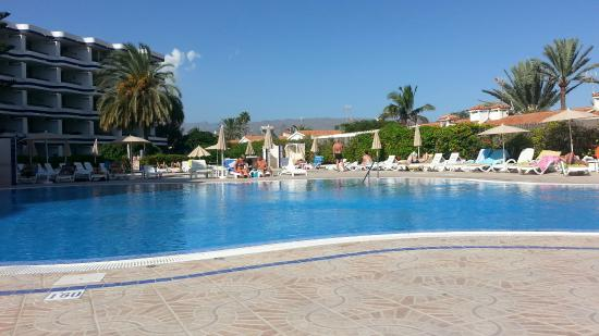 Tamaran Apartments: piscina