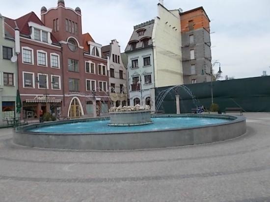 Komarno City Centre : Nádvorie.