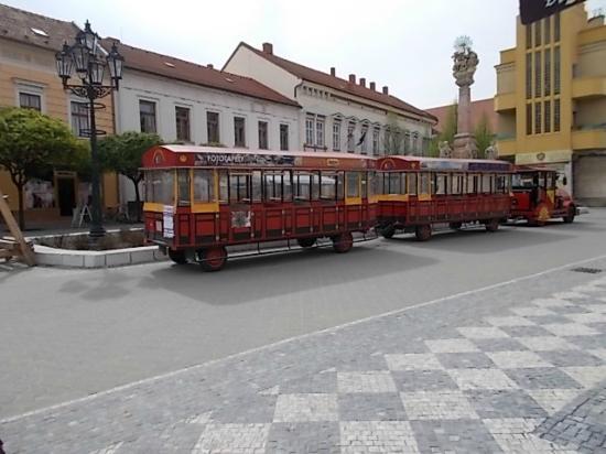 Komarno, Slovacchia: Spomínaný vláčik.