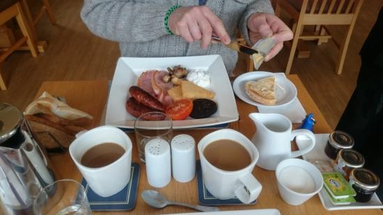 Marine Court Hotel: fabulous full Devon grill
