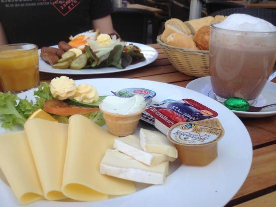 Vegetarisches Und Amerikanisches Frühstück Bild Von Pendel Bonn