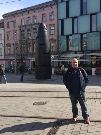 Brno, République tchèque : Namesti Svobody