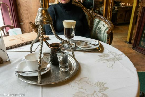 Videnska Kavyarnya: Turkish coffee