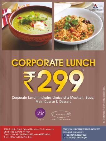 Deccan Rendezvous: Corporate Lunch