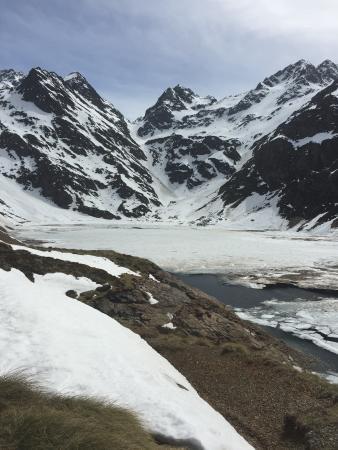 Auzat, Γαλλία: Au dessus du barrage