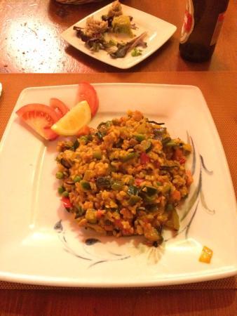 Al Natural: Paella Vegetariana