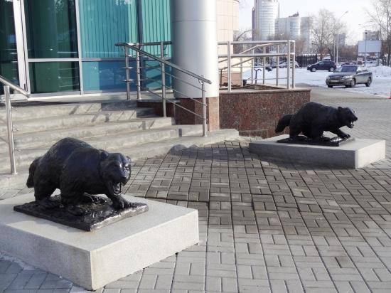 Sculpture Bears