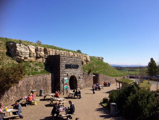 The Rheged Centre: Lovely spring day at Rheged Discovery Centre.