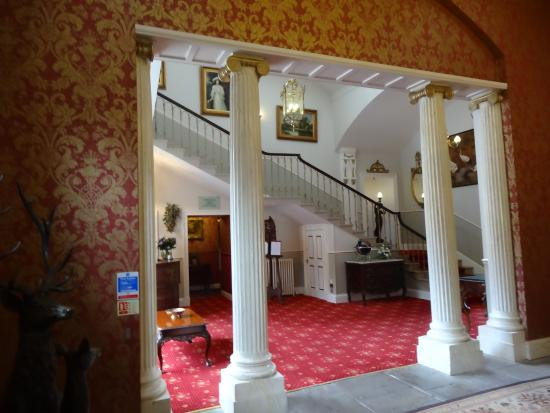 The Brasserie at Melville Castle : staircase