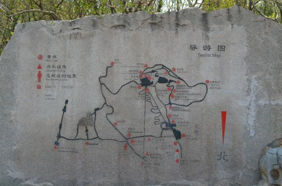 Qianfoshan : MAP