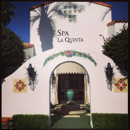 Spa La Quinta: Spa entrance