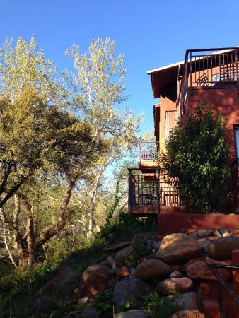 Kimpton Amara Resort & Spa : Rooms facing Oak Creek