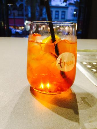 Trevi On Lygon: Start with a spritz