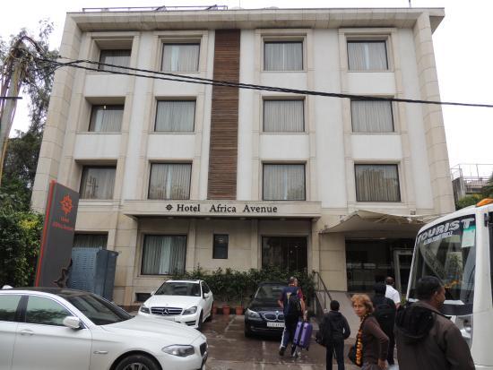 Hotel Africa Avenue GK : CHAMBRE