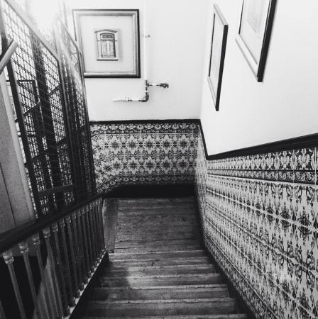 Residencia do Sul: Vista da escada no segundo andar