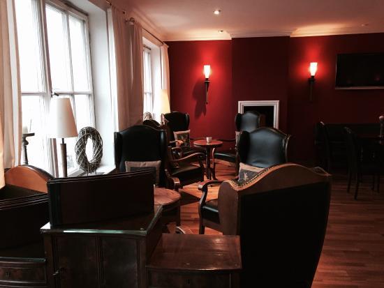 Romantik Hotel Hirschen: Sitting area