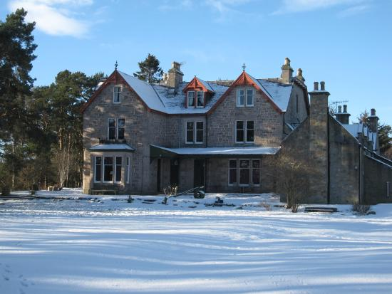 Dalrachney Lodge Hotel: Dalrachney in the snow