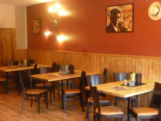 Oschersleben, Alemania: Restaurantbereich oben