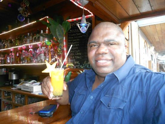 Hotel Bocas del Toro Restaurant & Bar : DELICIOUS MARACUYA MARGARITAS