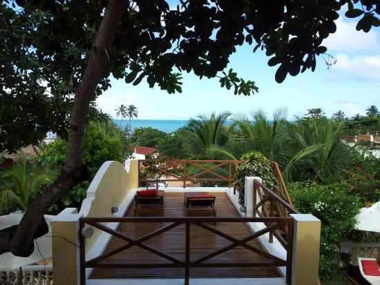 Hotel Villa Terra Viva: Vista para o mar