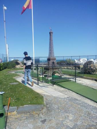 Golf miniature