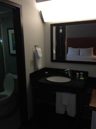 Hyatt Place Dallas-North: Bathroom