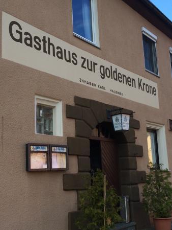 Wendelstein, Alemanha: Gasthaus Zur Goldenen Krone Fam. Haubner