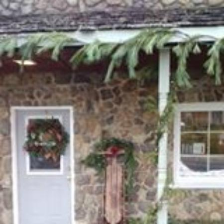 Country Cafe: The cafe at Christmas