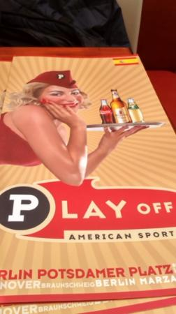 Play Off: carta en español