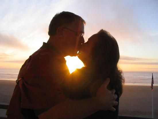 WorldMark by Wyndham Seaside: Another romantic sunset