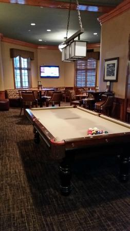 Pool Table In Pub Picture Of The Hotel Roanoke Conference Center - Pool table conference table
