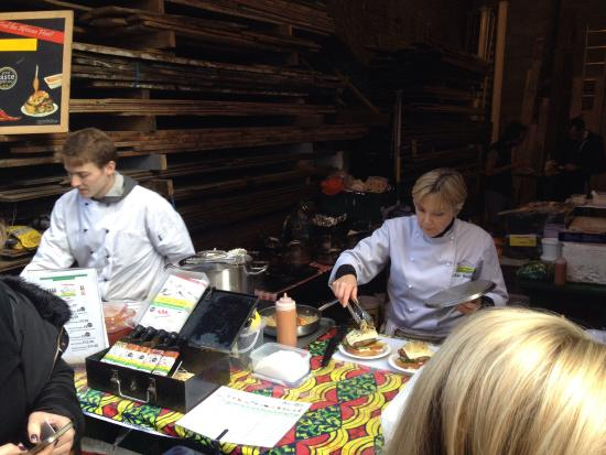 Photo of Tourist Attraction Maltby Street Market at 41 Maltby Street, London SE1 3PA, United Kingdom