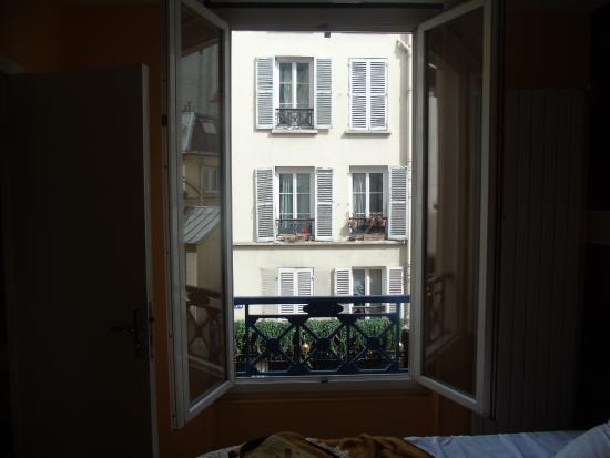 Hotel Marclau: Veduta della finestra