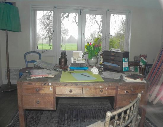 Marvelous Her Writing Desk Picture Of Monks House National Trust Interior Design Ideas Ghosoteloinfo