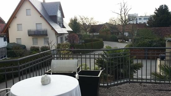Pension am Bodensee: Patio