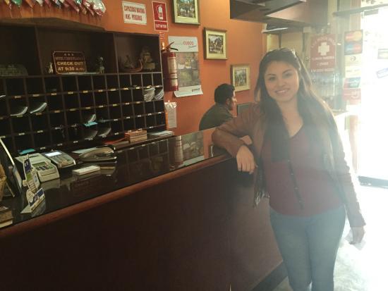 Cusco Plaza Nazarenas: En la recepción del Hotel Cusco Plaza II